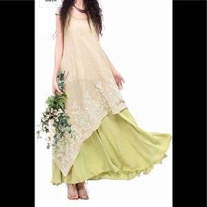 Zanzea dress embroidery LARGE L Wore 1x LIKE NEW